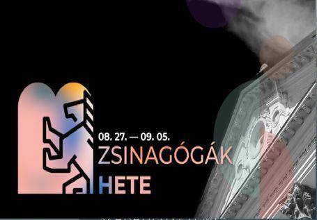 Zsinagógák hete 08.27-09.05. között, részletes program